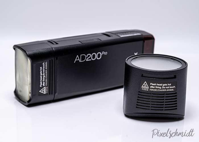 Godox AD200Pro und H200R