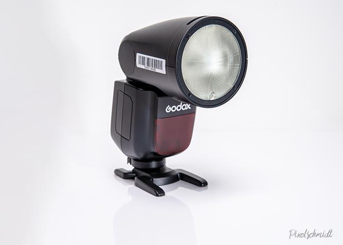 Godox V1 Aufsteckblitz mit rundem Blitzkopf