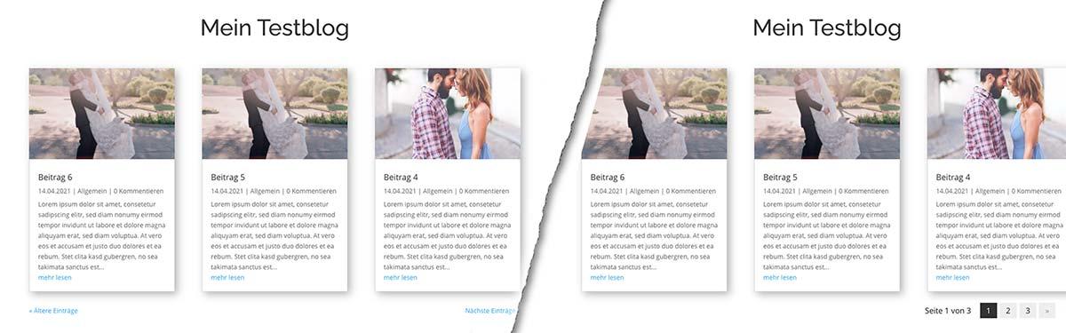 Die Seitennummerierung in WordPress und Divi ändern - Titelbild