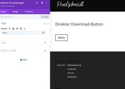 Download-Button erstellen - Schritt 1